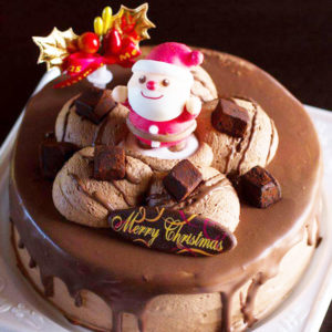 角屋菓子店生チョコデコレーションケーキ